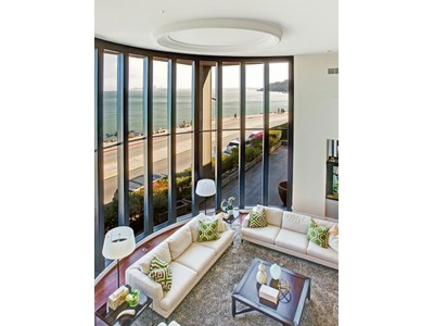 Single Family Home for  at Magnificent Waterfront Home 475 Bridgeway Blvd Sausalito, California 94965 United States