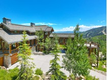 Einfamilienhaus for sales at Exceptional Park City Ski Estate 72 White Pine Canyon Rd   Park City, Utah 84098 Vereinigte Staaten