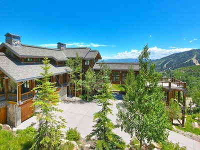 Maison unifamiliale for sales at Exceptional Park City Ski Estate 72 White Pine Canyon Rd Park City, Utah 84098 États-Unis
