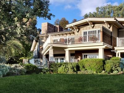 Частный односемейный дом for sales at Laguna Beach 1 Stickley  Laguna Beach, Калифорния 92651 Соединенные Штаты