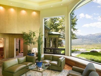 Casa para uma família for sales at Old World & Modern European Style  North Jackson Hole, Wyoming 83001 Estados Unidos
