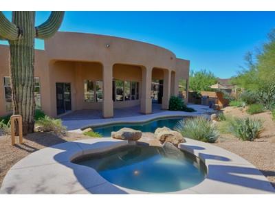 Частный односемейный дом for sales at Fabulous Soft Southwest Contemporary in Gated Troon Fairways 10480 E Quartz Rock Rd  Scottsdale, Аризона 85255 Соединенные Штаты