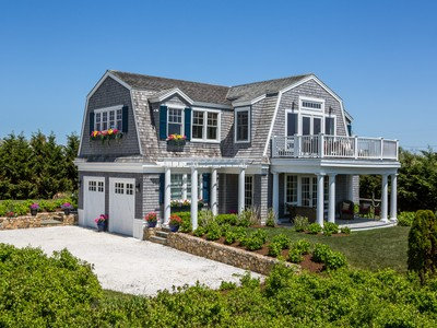 Maison unifamiliale for sales at Atlantic View, Katama, Martha's Vineyard 23 Mattakesett Bay Rd Edgartown, Massachusetts 02539 États-Unis