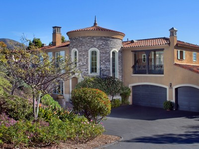 Maison unifamiliale for sales at 7831 Camino De La Dora   Rancho Santa Fe, Californie 92067 États-Unis