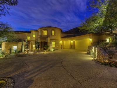 Maison unifamiliale for sales at Santa Barbara/Tuscan Beauty in Prestigious Guard Gated Biltmore Mountain Estates 6556 N Arizona Biltmore Circle Phoenix, Arizona 85016 États-Unis