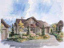 Single Family Home for sales at Park City Cabin in Promontory, a Private Mountain & Golf Recreational Community 9320 Dye Cabins Dr Lot 22   Park City, Utah 84098 United States