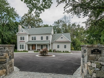 Single Family Home for sales at Exceptional Colonial 73 Old Post Road Rye, New York 10580 United States