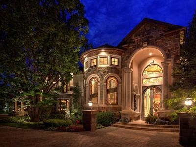 Single Family Home for sales at Spectacular Estate with Old World Elegance 5987 Brentwood Dr Salt Lake City, Utah 84121 United States