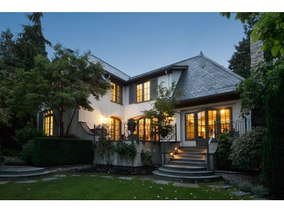 Maison unifamiliale for sales at French Country Home in Kerrisdale 6430 McCleery Street  Vancouver, Colombie-Britannique V6N1G6 Canada