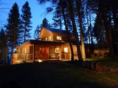 獨棟家庭住宅 for sales at Luxury Farmhouse on Whitefish Lake 2060 Houston Drive  Whitefish, 蒙大拿州 59937 美國