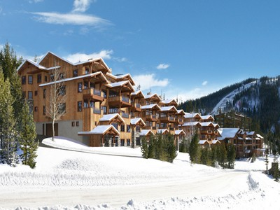 Eigentumswohnung for sales at New Construction Mountain Lake Condo 2 Summit View Road Unit 402 Big Sky, Montana 59716 Vereinigte Staaten