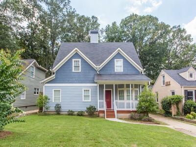 Single Family Home for sales at Live Large in East Lake! 2735 Arbor Avenue SE Atlanta, Georgia 30317 United States