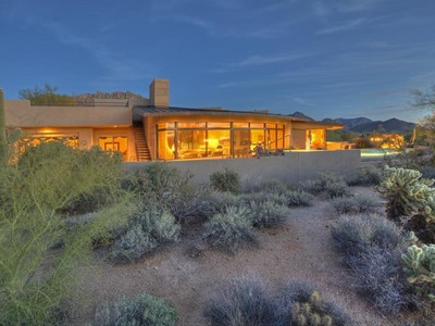 Villa for sales at Contemporary Desert Highlands Home with Dramatic Views 10040 E Happy Valley Rd #633 Scottsdale, Arizona 85255 United States