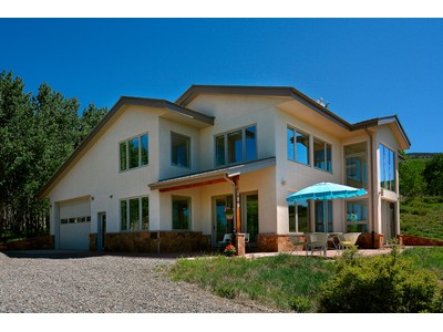 Single Family Home for sales at Energy Efficient Mountain Home 189 Wild Rose Lane  Crested Butte, Colorado 81224 United States