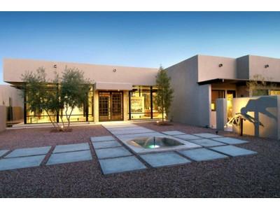 Casa Unifamiliar for sales at An Extraordinary Visually Stunning Contemporary Masterpiece With Superb Views 4920 N Hidden Valley Rd Tucson, Arizona 85750 Estados Unidos
