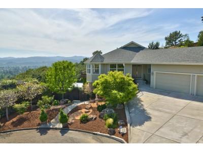 Einfamilienhaus for sales at Urban Chateau 1050 Sunset Drive Healdsburg, Kalifornien 95448 Vereinigte Staaten