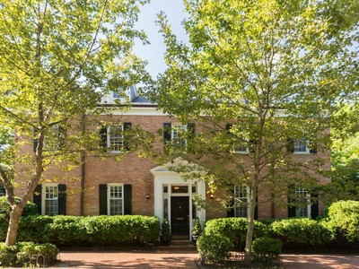 Maison unifamiliale for sales at Georgetown 3043 P Street Nw Washington, District De Columbia 20007 États-Unis