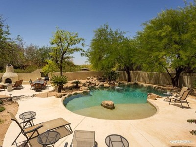 Single Family Home for sales at Resort Style Living On .84 Acres In North Scottsdale 26010 N Wrangler Rd Scottsdale, Arizona 85255 United States