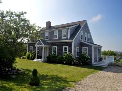 Nhà ở một gia đình for sales at Bright and Airy Home Close to Town 75 Vestal Street Nantucket, Massachusetts 02554 Hoa Kỳ