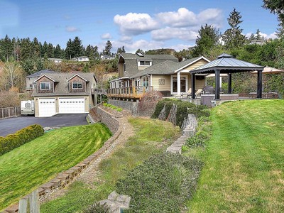 Single Family Home for sales at Traditional Northwest Contemporary 7915 Warren Dr NW Gig Harbor, Washington 98335 United States