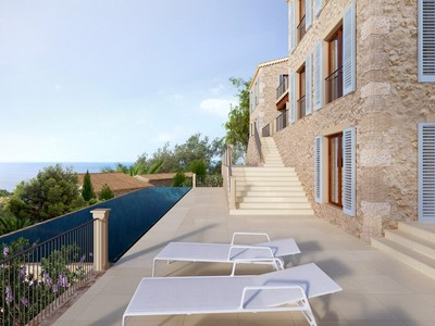 Multi-Family Home for sales at Building project for a magnificent finca in Deia Deia, Mallorca Spain