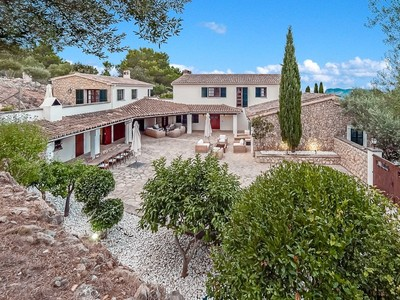 Casa Multifamiliar for sales at Country Estate with sea views and stable Son Font  Son Font, Mallorca 07184 España