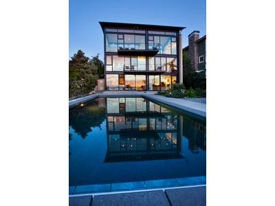 Частный односемейный дом for sales at Puget Sound Waterfront Estate 6775 Beach Drive SW  Seattle, Вашингтон 98136 Соединенные Штаты