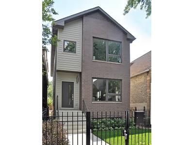 단독 가정 주택 for sales at Custom New Construction Home 2535 W Haddon Ave  Chicago, 일리노이즈 60622 미국