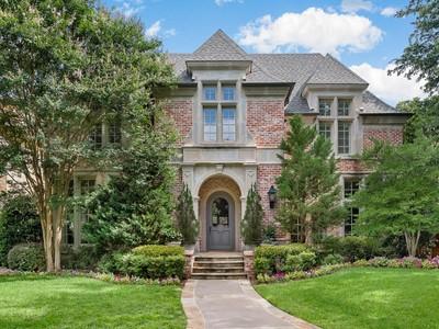 Maison unifamiliale for sales at 3416 Drexel Drive  Dallas, Texas 75205 États-Unis