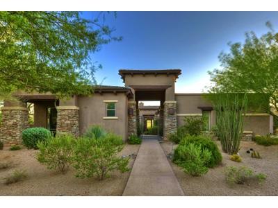 Vivienda unifamiliar for sales at Beautiful DC Ranch Country Club Home 9290 E Thompson Peak Pkwy #104 Scottsdale, Arizona 85255 Estados Unidos