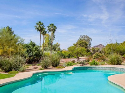 Single Family Home for sales at Classic Elegance On Exceptional View Lot Overlooking The Padre Golf Course 6781 E Caballo Drive Paradise Valley, Arizona 85253 United States