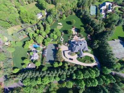 Casa para uma família for sales at Magnificent Estate 5 Sutton Drive New Vernon, Nova Jersey 07976 Estados Unidos