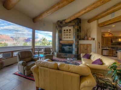 Maison unifamiliale for sales at Red Rock and Golf Course Views! 20 Diamond Sky Drive Sedona, Arizona 86351 États-Unis