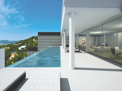 Single Family Home for sales at Minimalistic Project In Can Furnet With Sea View  Ibiza, Ibiza 07840 Spain