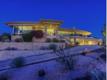 Casa para uma família for sales at Stunning Hillside Contemporary Home with the Best Views in Troon North 10745 E Skinner Drive   Scottsdale, Arizona 85262 Estados Unidos