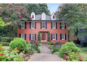 Single Family Home for sales at Beautiful Traditional Home In Piedmont Heights 545 Montgomery Ferry Drive Atlanta, Georgia 30324 United States