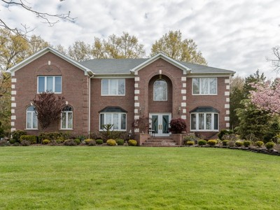 Single Family Home for sales at Exceptional Custom Colonial 668 Foothill Road  Bridgewater, New Jersey 08807 United States