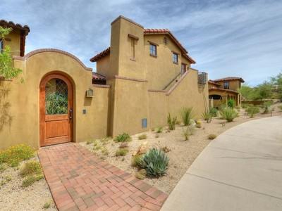 Nhà phố for sales at Extraordinary Hacienda in Prime Desert Mountain Location 10509 E Rising Sun Drive Scottsdale, Arizona 85262 Hoa Kỳ
