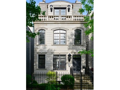 Casa Unifamiliar for sales at Elegant, Dramatic Home in Lincoln Park 2037 N Bissel  Lincoln Park, Chicago, Illinois 60614 Estados Unidos