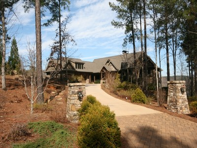 Single Family Home for sales at Magnificent Waterfront 231 Jasmine Point Salem, South Carolina 29676 United States