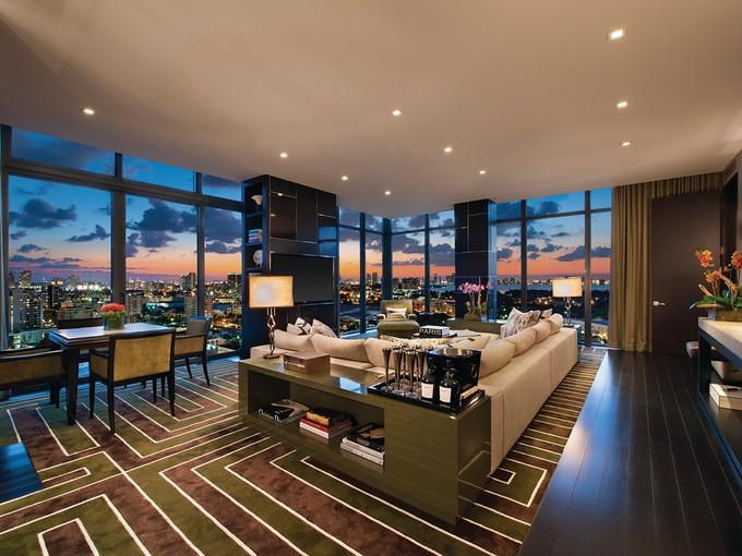 共管式独立产权公寓 for sales at W Hotel & Residences UPH-01 2201 Collins Avenue UPH-01   Miami Beach, 佛罗里达州 33139 美国