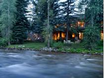獨棟家庭住宅 for sales at Magic Along the Riverbank 1470 Red Butte Drive   Aspen, 科羅拉多州 81611 美國