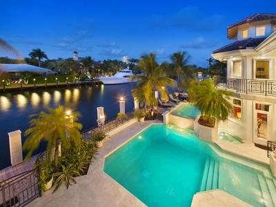Maison unifamiliale for sales at 2501 Del Lago Dr  Fort Lauderdale, Florida 33316 États-Unis