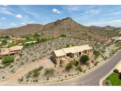 Частный односемейный дом for sales at Custom Built Classic Hillside Home With The Most Majestic Views In Phoenix 15033 N 12th Street Phoenix, Аризона 85022 Соединенные Штаты