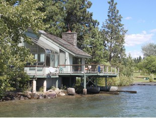 Single Family Home for sales at Mellow Cove Home Browns Bay Lane Rollins, Montana 59931 United States