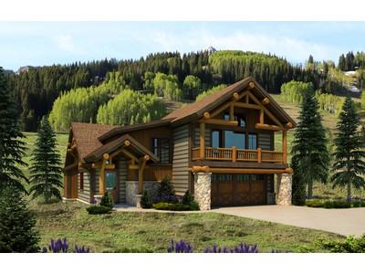 Casa para uma família for sales at Prestine Mountain Home 20 Appaloosa Road Mount Crested Butte, Colorado 81225 Estados Unidos