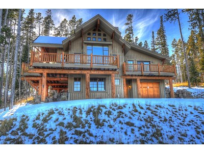 Maison unifamiliale for sales at Ski-in, Ski-out Moonlight Mountain Home 4 Indian Summer Road Big Sky, Montana 59716 États-Unis