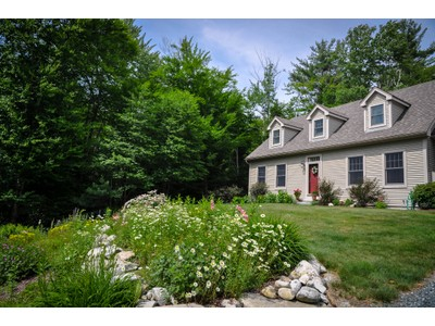 Single Family Home for sales at Spacious Custom Cape 33 Stoney Brook Road Newbury, New Hampshire 03255 United States