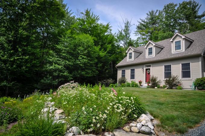 Nhà ở một gia đình for sales at Spacious Custom Cape 33 Stoney Brook Road Newbury, New Hampshire 03255 Hoa Kỳ