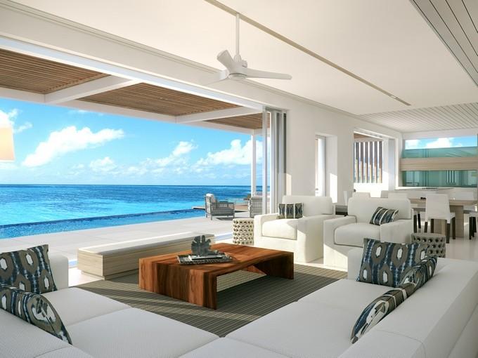 Vivienda unifamiliar for sales at Beach Enclave - Two Storey Villa- LOT 4 Beachfront Blue Mountain, Providenciales TC Islas Turcas Y Caicos